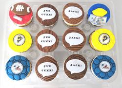 Super Bowl VIII Cupcakes
