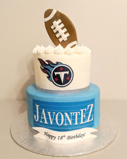 Titan Up Birthday Cake