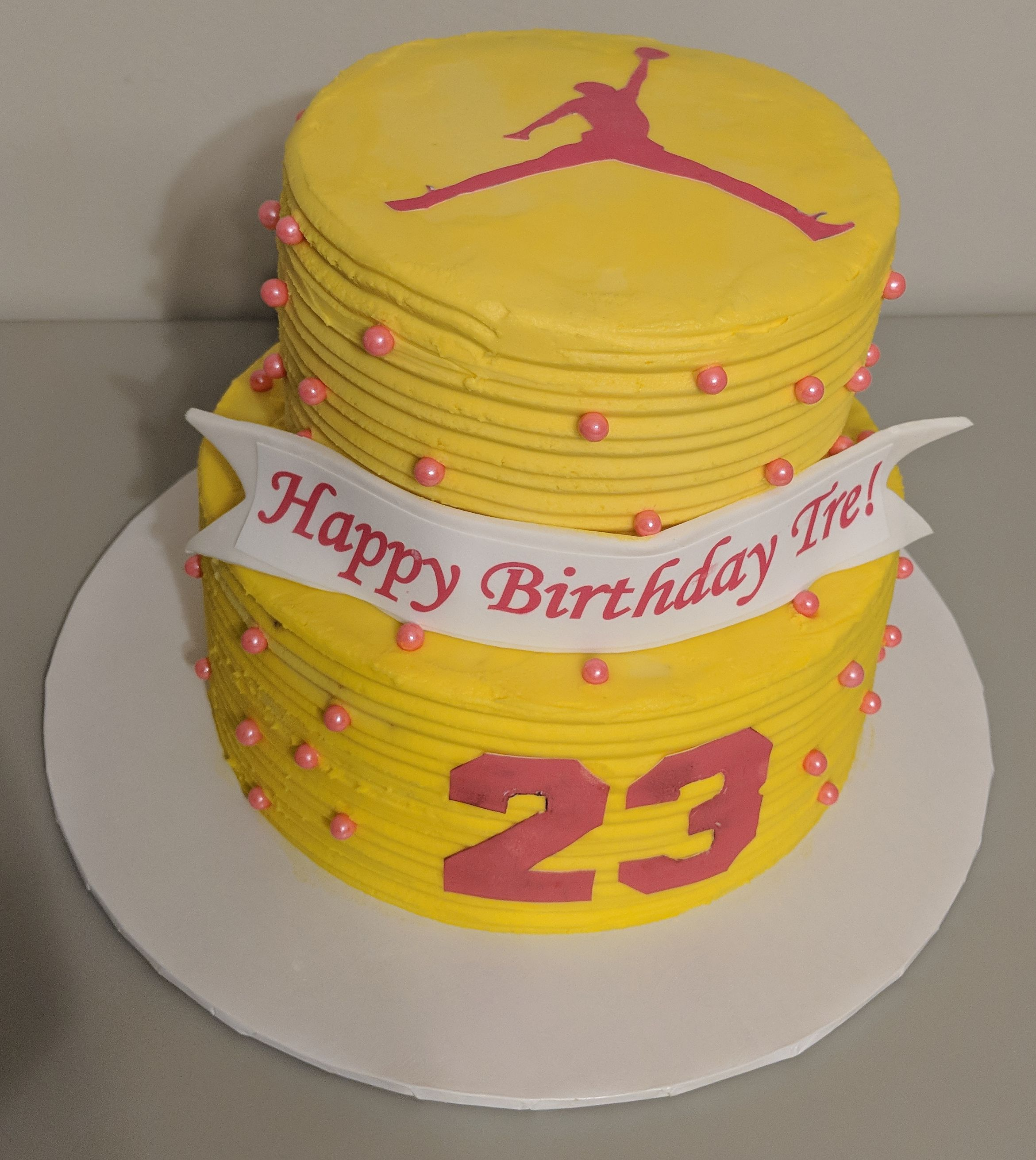 Jordan Birthday Cake