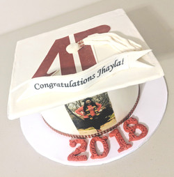 Austin Peay Graduation Cake