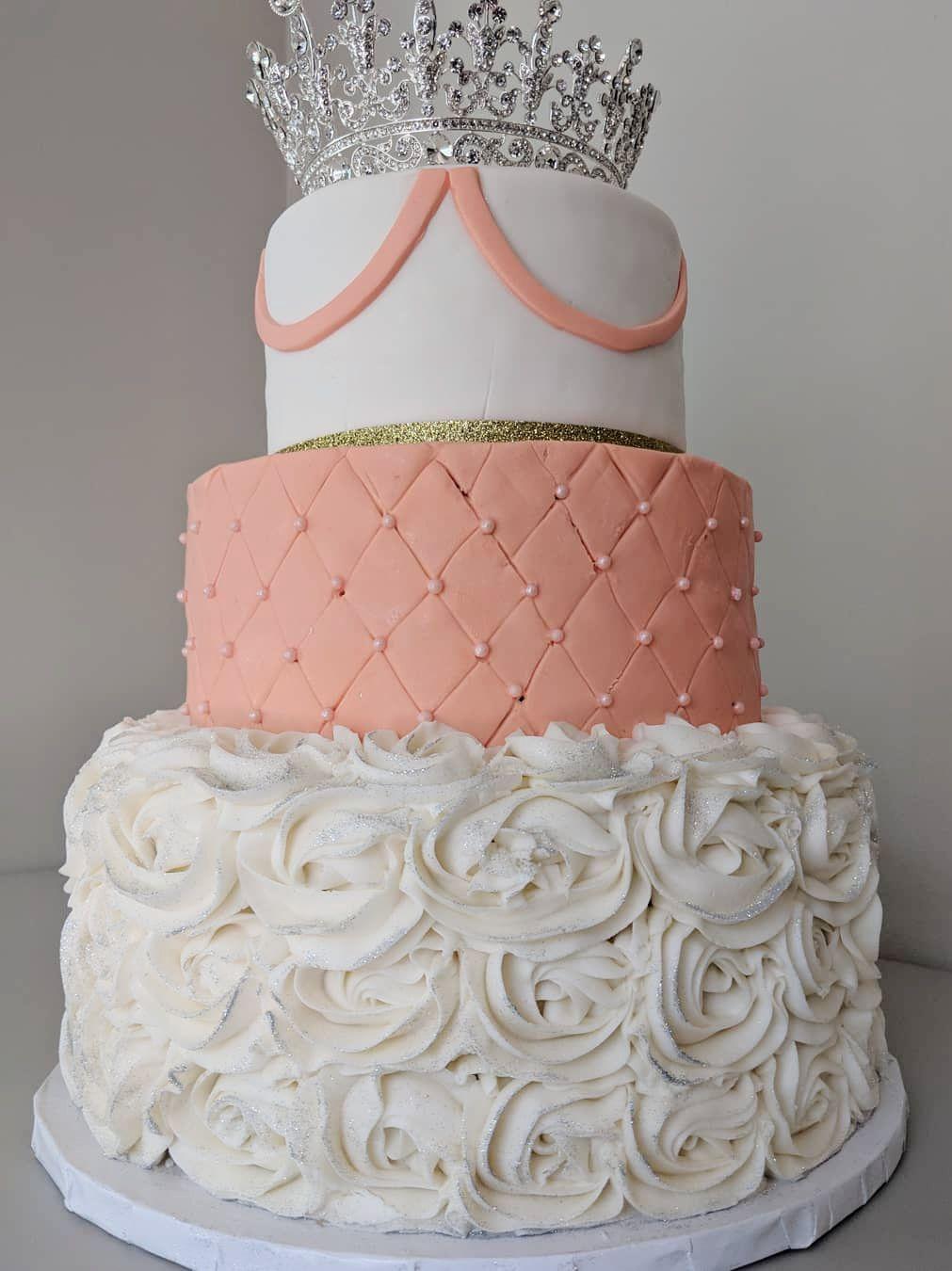 Princess Shower Cake