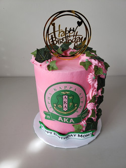 AKA Barrel Cake