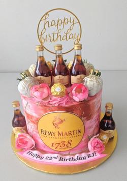 1738 Remy Adult Beverage Cake