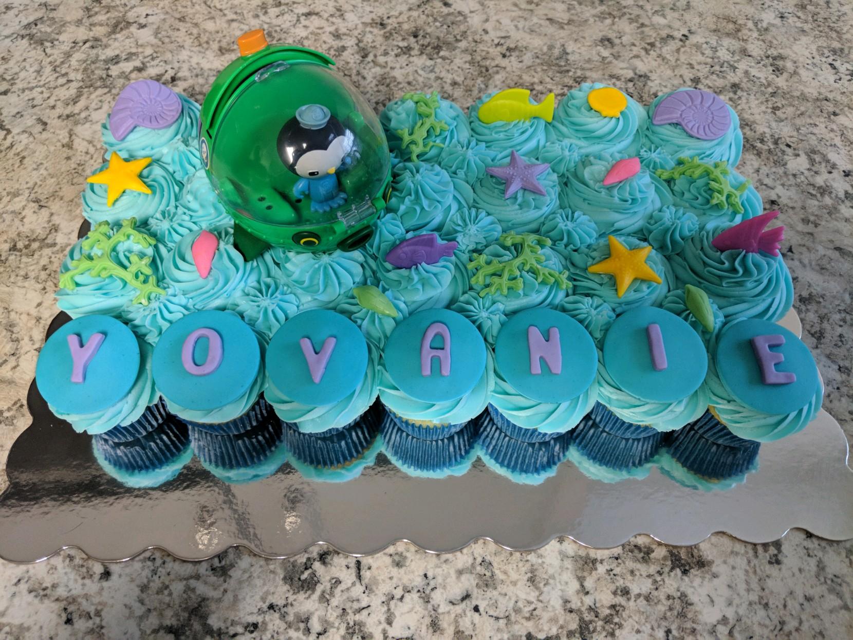 Octonaut Cupcakes