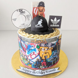 LL Cool J Birthday Cake