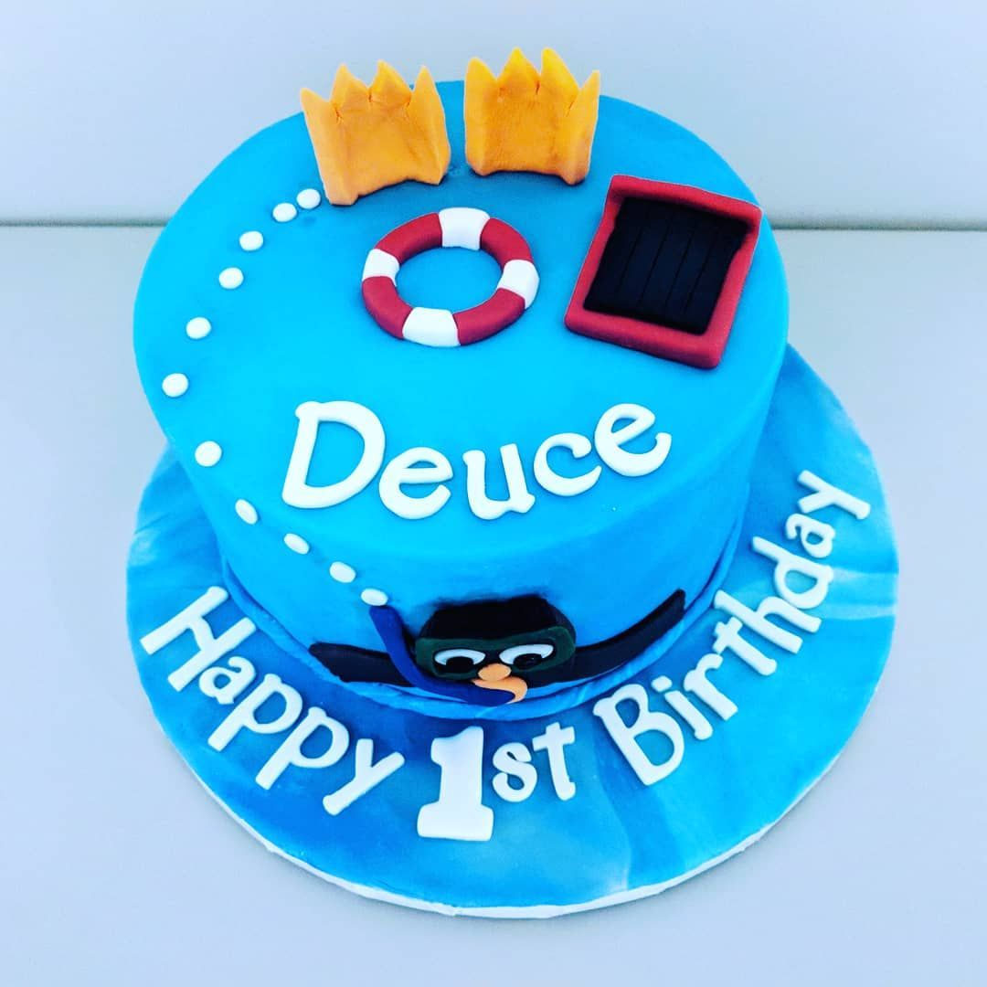Little Swimmers Cake