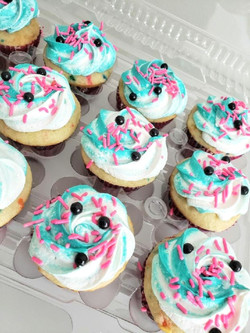 Traditional Cupcakes (Tik Tok Colors)
