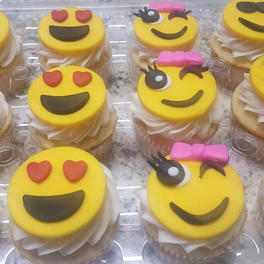 Emoji Cupcakes