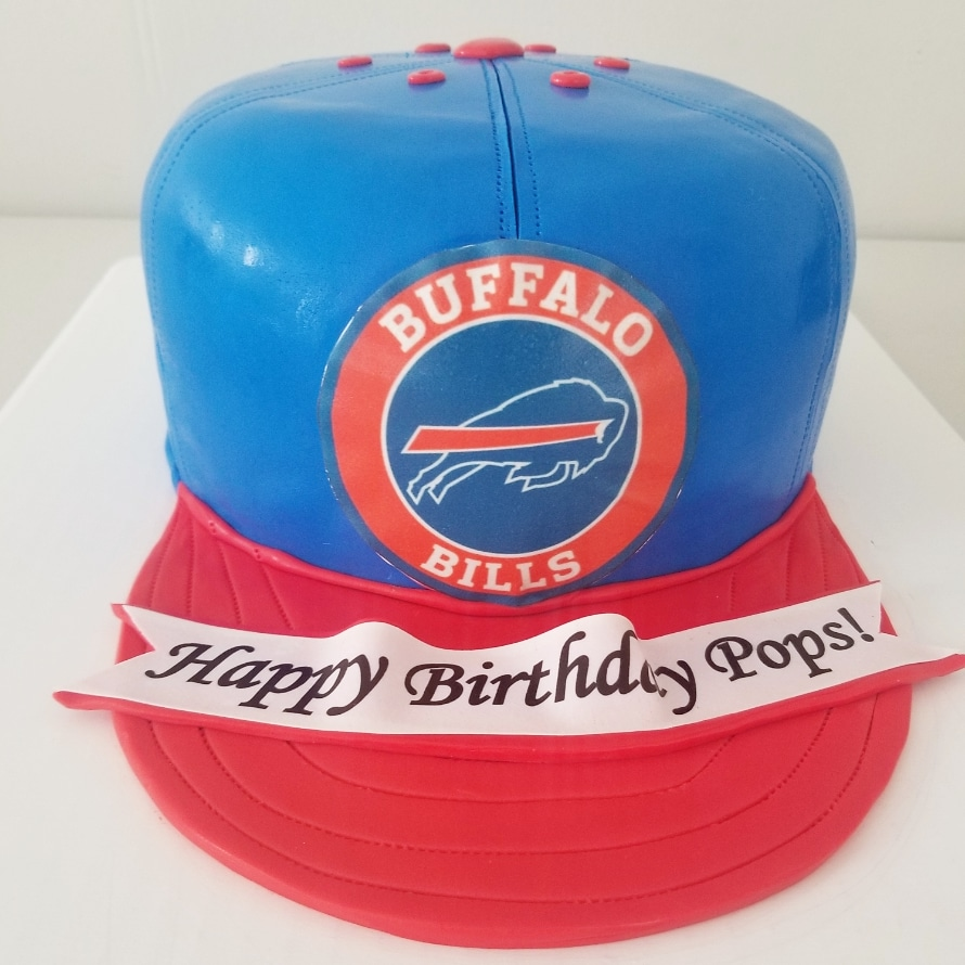 Buffalo Bills Cake