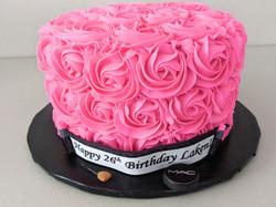MUA Rosette Cake