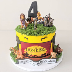 The Lion King Birthday Cake