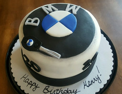 BMW Birthday Cake