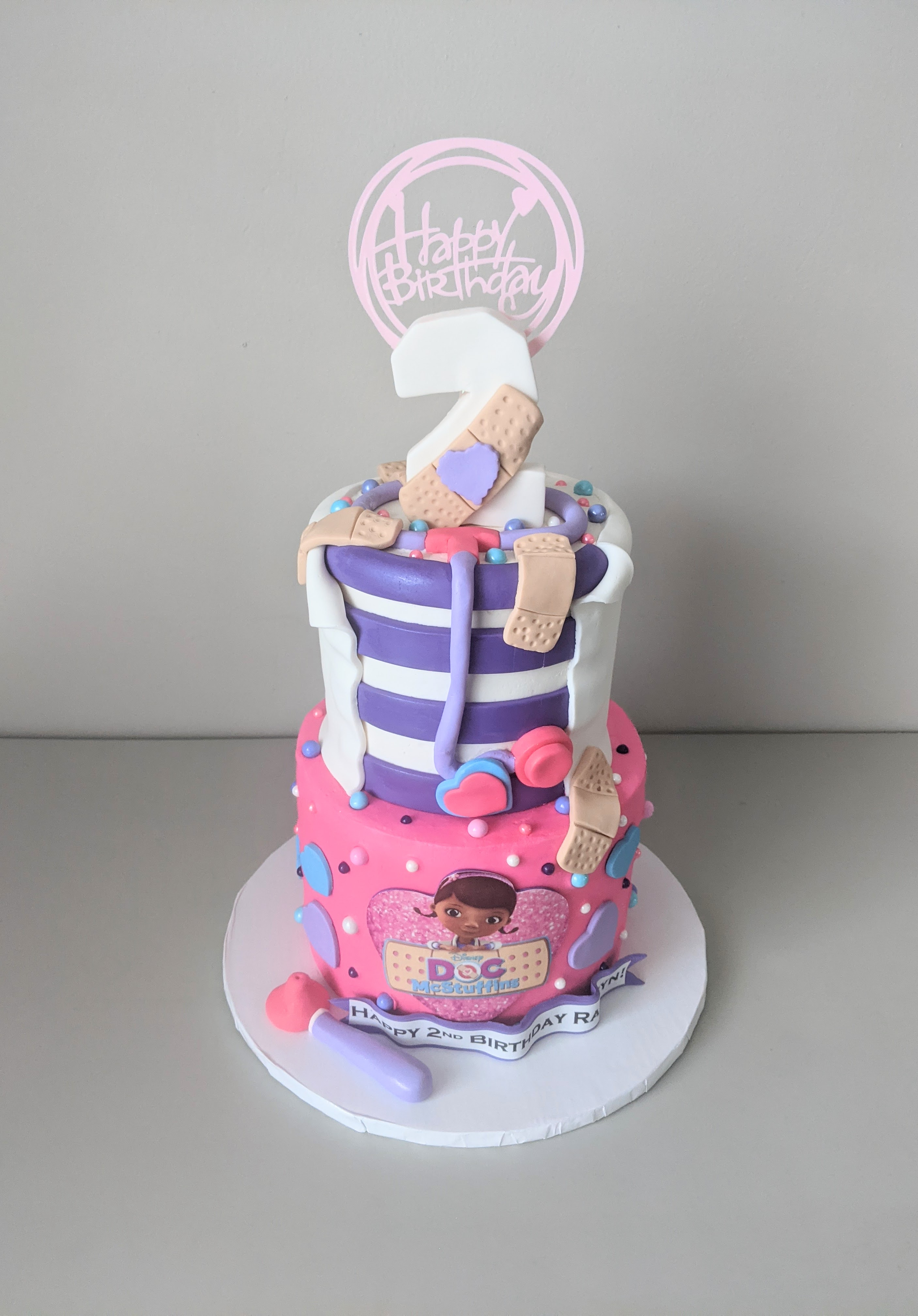 Doc McStuffins Birthday Cake