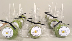 Hemp Themed Candied Apples