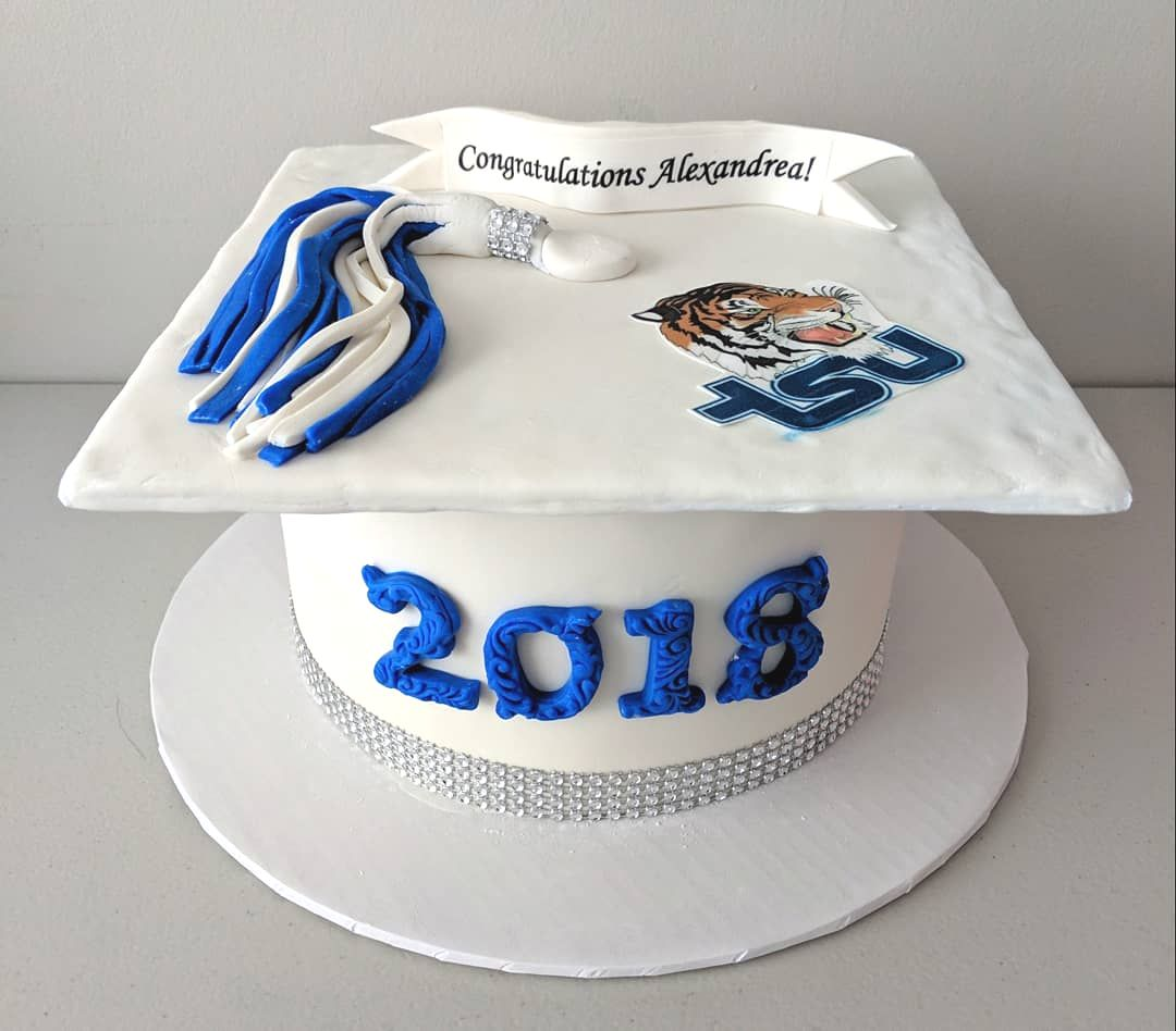 Tennessee State University Grad Cake