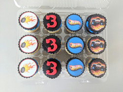 Hot Wheels Cupcakes