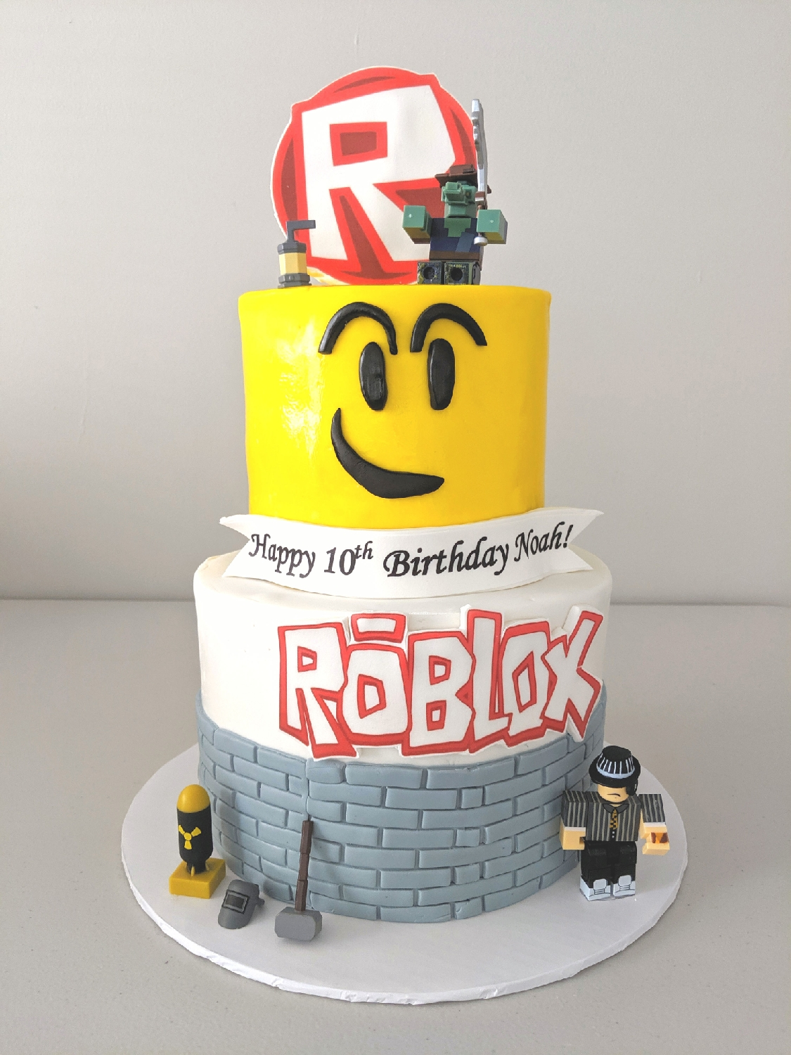 Roblox Birthday Cake