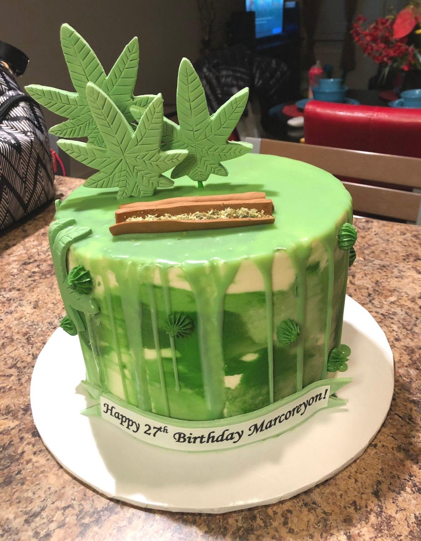 Mary Jane Birthday Cake