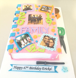 Scrapbooking Birthday Cake