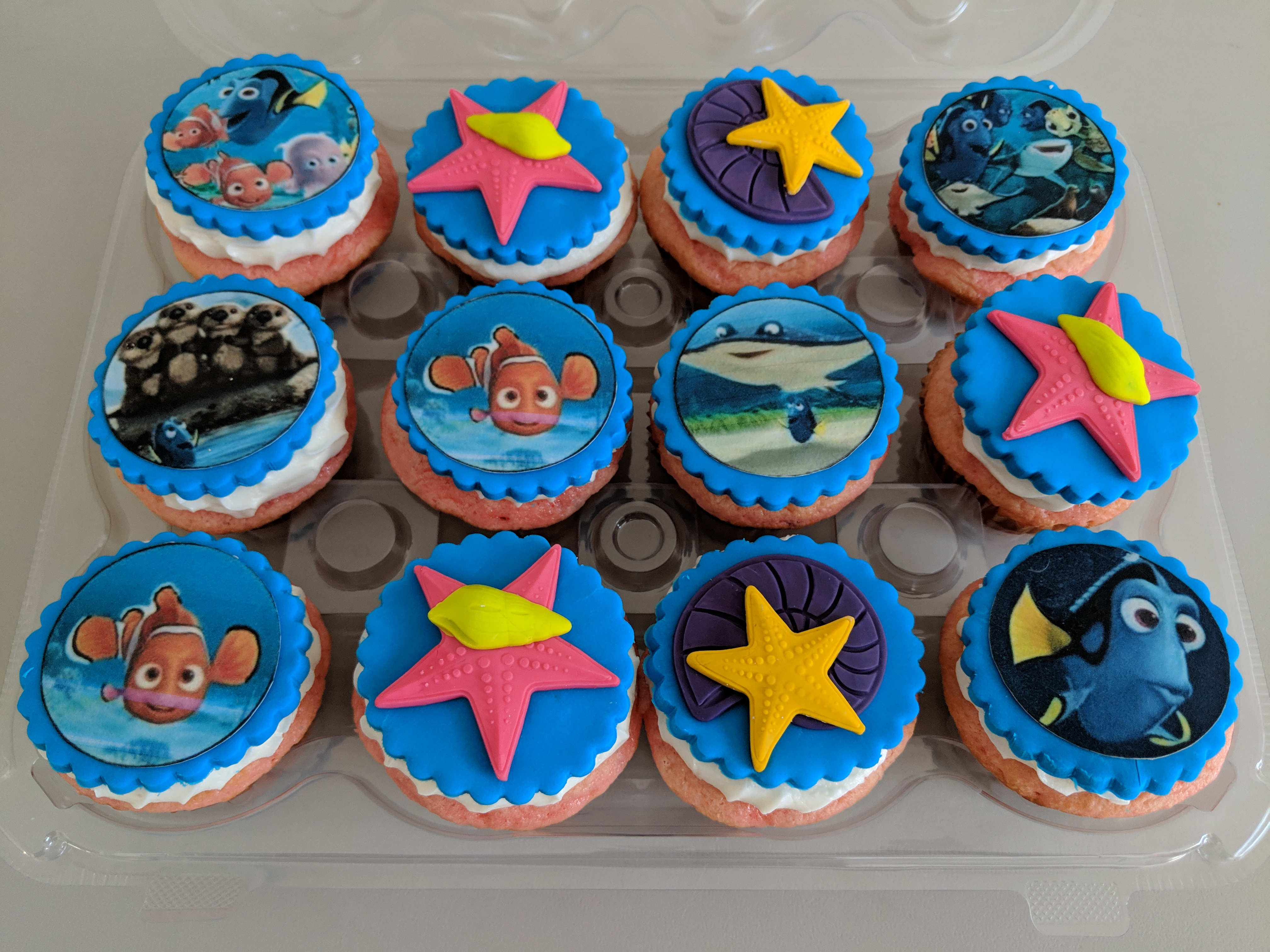 Finding Nemo Cupcakes