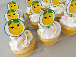Lemon themed Cupcakes