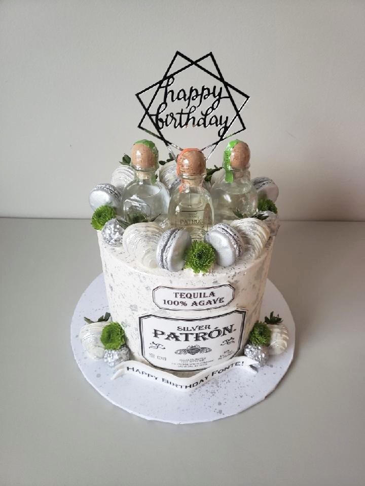 Patron Adult Beverage Cake