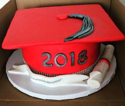 Ravenwood Graduation Cake