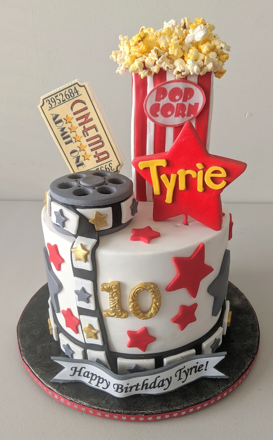 Cinema Birthday Cake