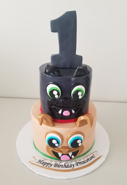 Puppy Dog Pals Birthday Cake