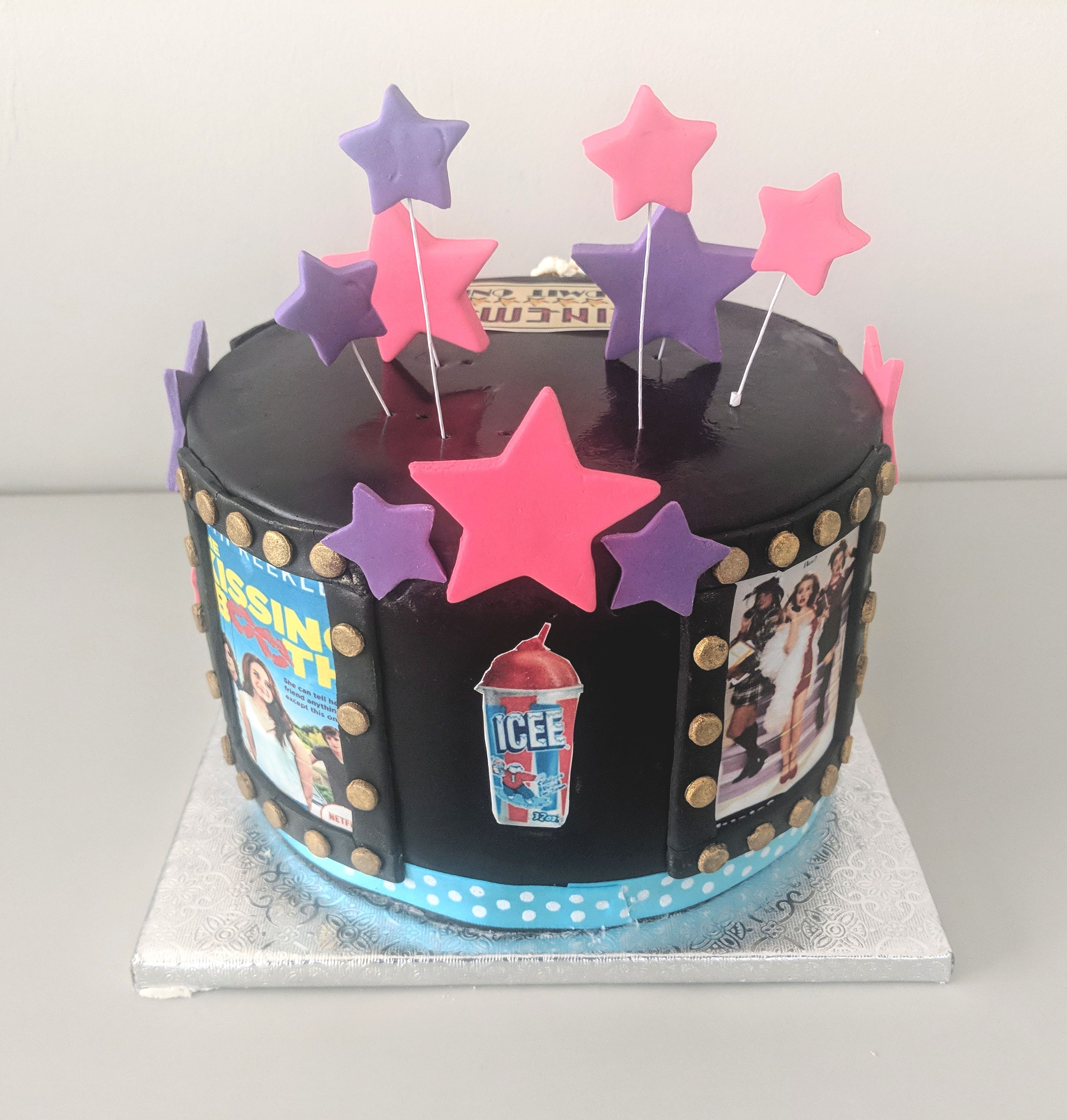 Cinema Birthday Cake (rear)