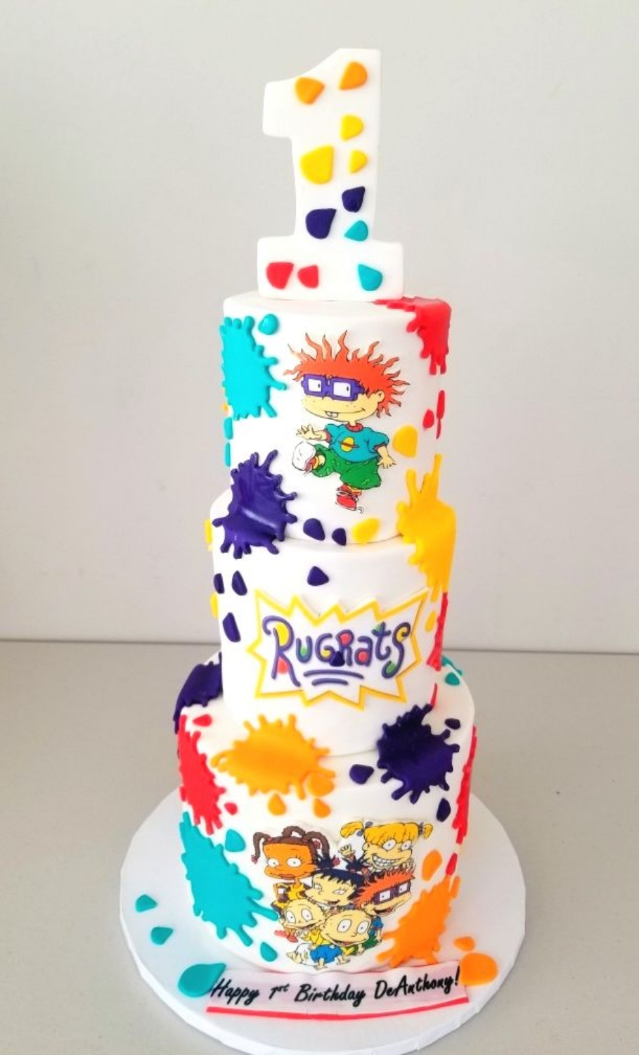 Rugrats Birthday Cake