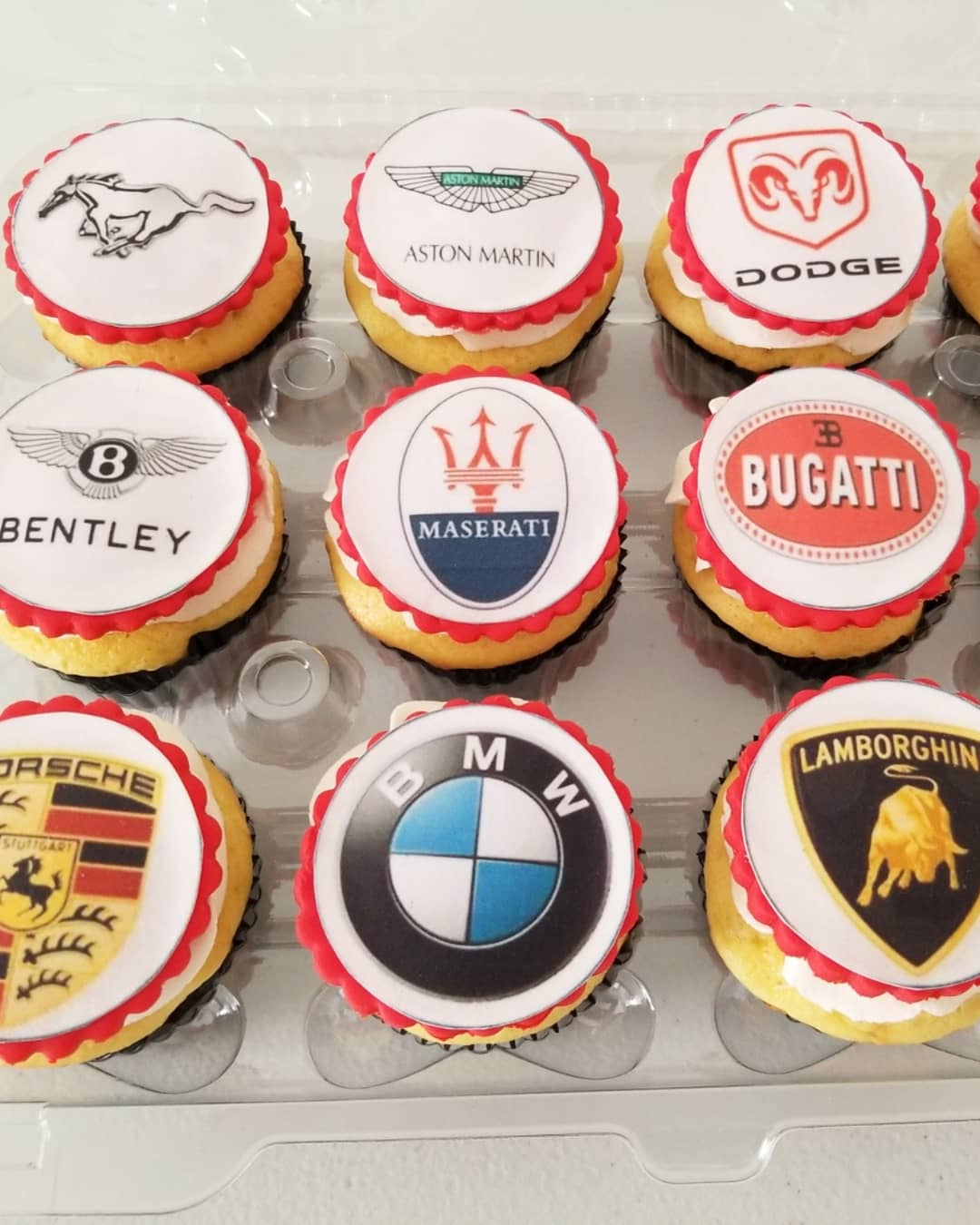 Car Lover Cupcakes