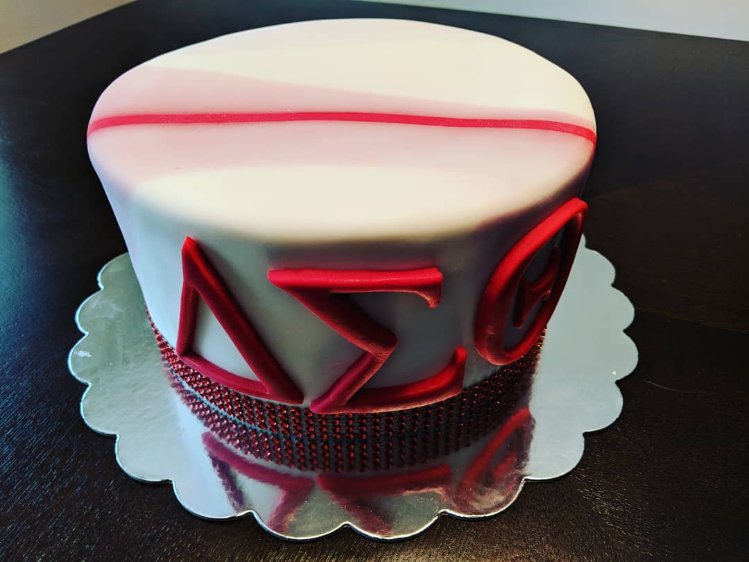 Delta Sigma Theta Marble Cake