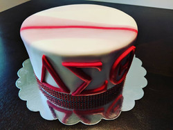 Delta Sigma Theta Marble Cake