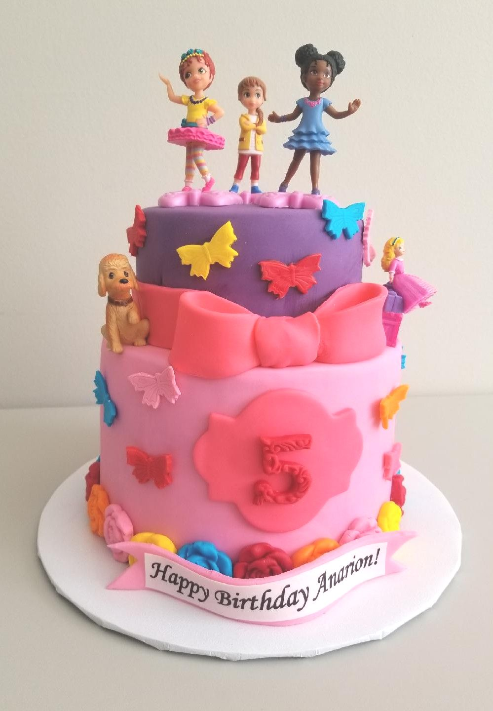 Fancy Nancy Birthday Cake