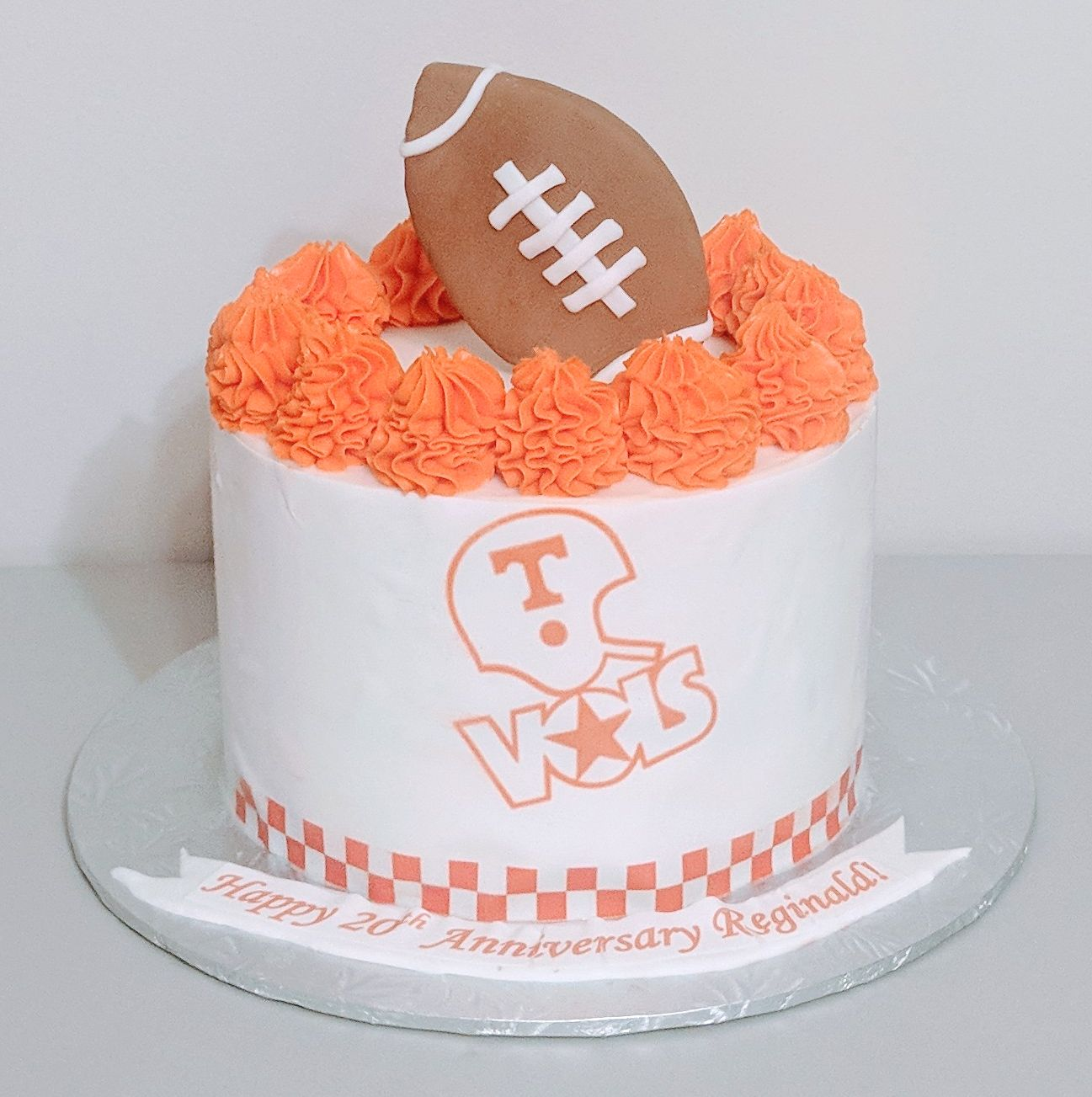 UT Football Cake