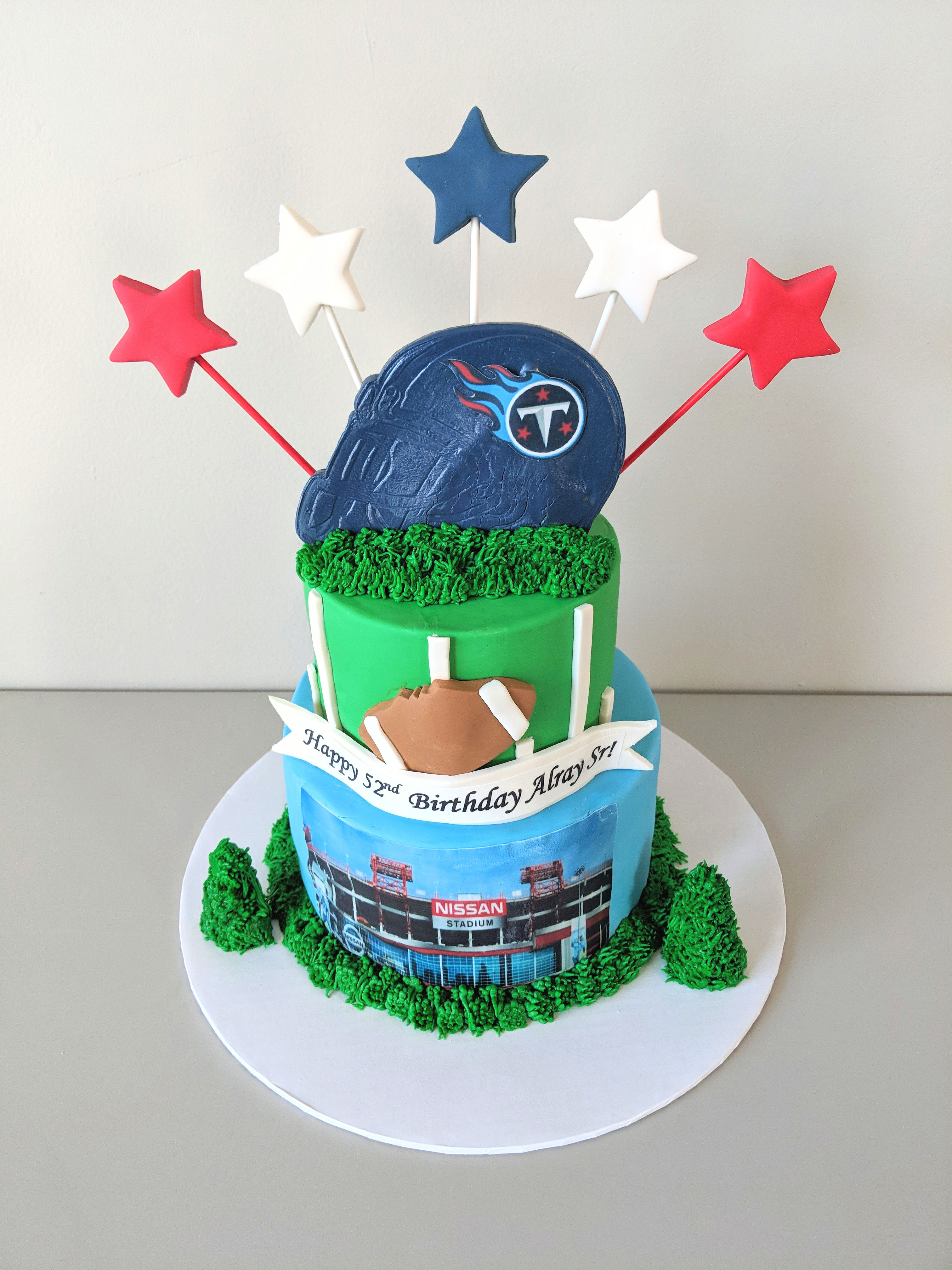 Tennessee Titans Fan Cake