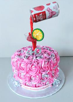 Margarita Gravity Cake