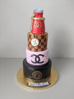 Designer Love Cake