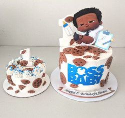 Boss Baby Birthday Cake & Smash Cake