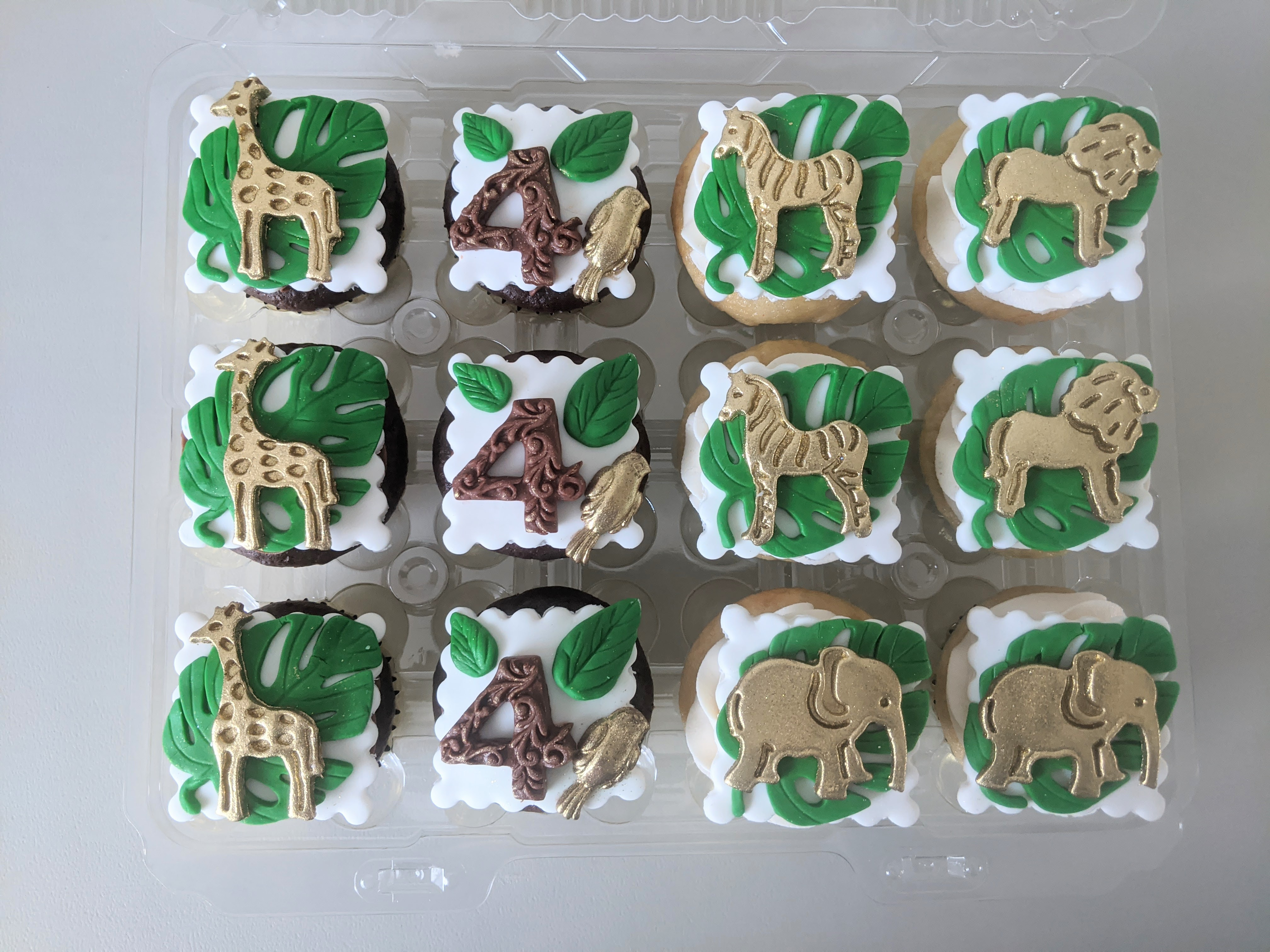 Safari Cupcakes