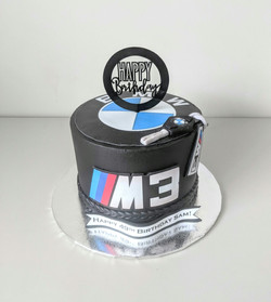 BMW M3 Birthday Cake