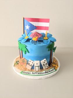 Puerto Rican Love Cake
