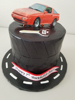 Chrysler Conquest Cake