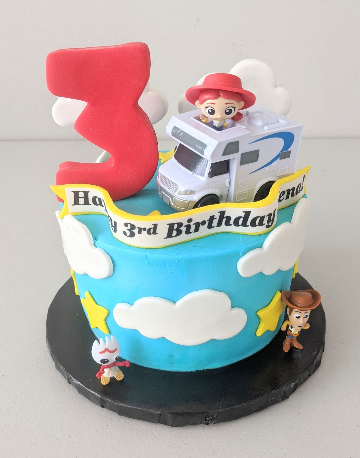 Toy Story Smash Cake