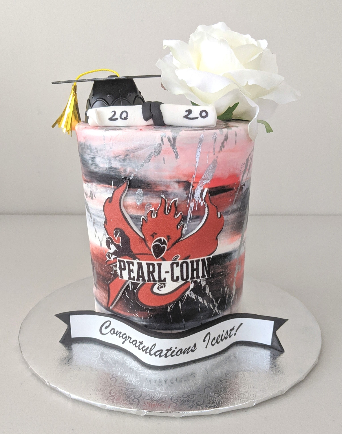 Pearl Cohn High School Graduation Cake