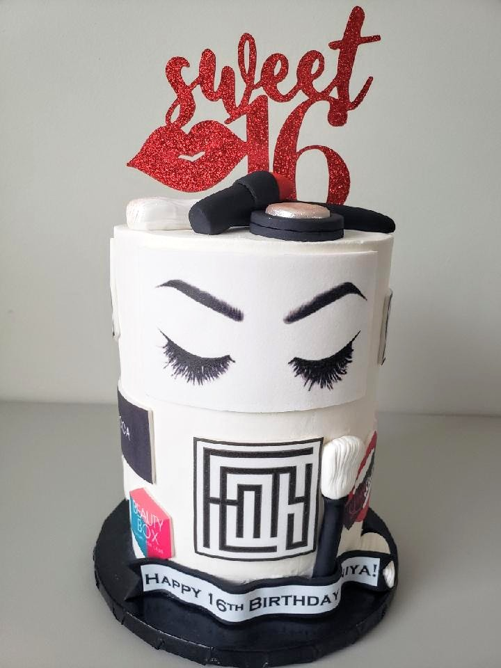 MUA Birthday Cake