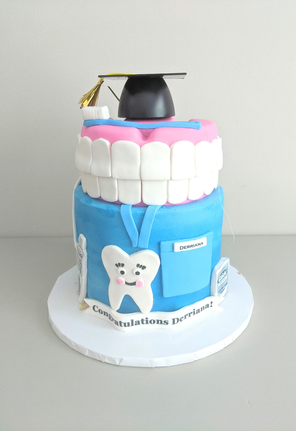 Dental Graduation Cake