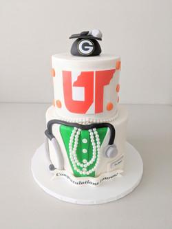 UT Knoxville Graduation Cake