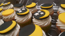 Solar Eclipse 2017 Cupcakes (one)